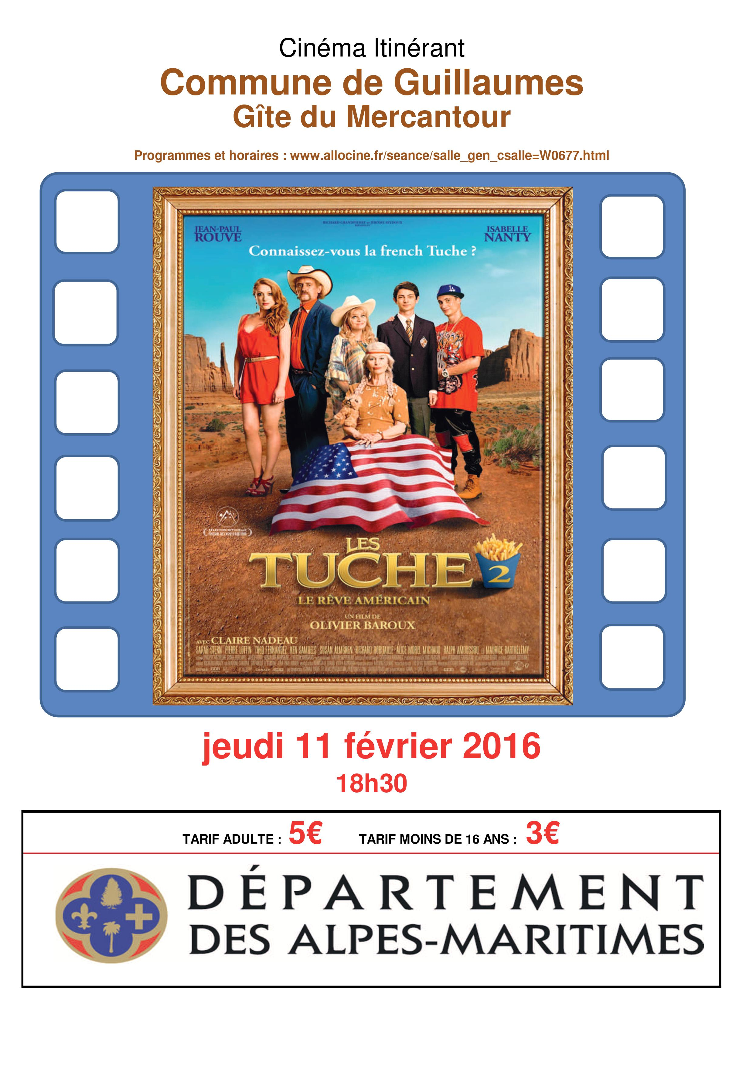 "Projection de ""Les Tuche 2"""